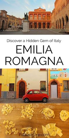 Why and how to visit the Emilia Romagna region in Italy. Including a great trip itinerary for Ravenna, Rimini, Forlimpopoli, and Santarcangelo. This is authentic part of Italy most tourists never see Italy Travel Tips, Travel Destinations, Travel Europe, Travel Guide, Cinque Terre, Italy Vacation, Italy Trip, Travel Pictures, Travel Pics