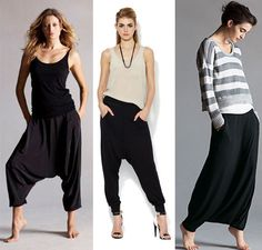 eileen fisher harem pants - Google Search