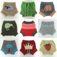 Super cute wool diaper covers.