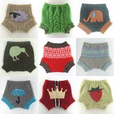 Super cute wool diaper covers.