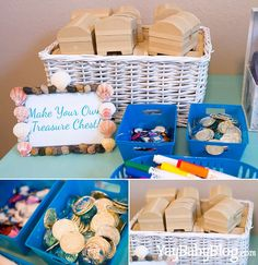 Mermaids/Under the Sea Birthday Party Ideas | Photo 1 of 20 | Catch My Party