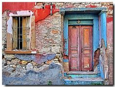 Washed-out life..  Chios Island Greece