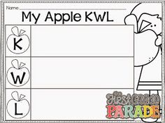 The First Grade Parade: Apples, Apples, EVERYWHERE!