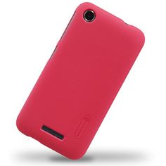 Nillkin Matte Textured Super Shield Hard Shell Case Cover for HTC Desire 320 - Red