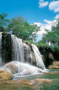 Waterfall near Campo Grande Brazil