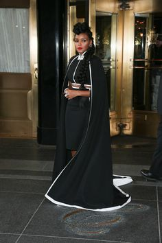 Janelle Monae at the #MetBall