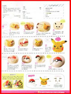 How to make a Breaded Pikachu chicken breast? and Onigiri Pokeball How to make a Breaded Pikachu chicken breast? and Onigiri Pokeball Japanese Bento Lunch Box, Bento Box Lunch, Lunch Snacks, Japanese Food, Kawaii Bento, Cute Bento, Bento Recipes, Cooking Recipes, Bento Ideas