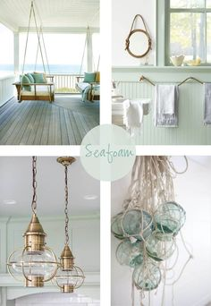 Coastal Style: Hamptons Chic with Seafoam Accents