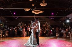WedLuxe – Cherry Blossom Heaven at Palais Royale Ballroom | Photography by: Samantha Ong Photography Follow @WedLuxe for more wedding inspiration!  www.palaisroyale.ca  #wedding #firstdance #bride #groom  #toronto #weddingideas #palaisroyale