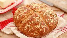 Traditional Irish Soda Bread (Brown Bread) - Gemma's Bigger Bolder Baking Irish Soda Bread Recipe, Wheat Bread Recipe, Bread Recipes, Baking Recipes, Sauce Recipes, Pasta Recipes, No Yeast Bread, Bread Baking, Baking Soda