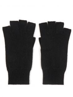"""White + Warren """"Cashmere Fingerless Glove"""""""