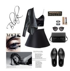 """Street style"" by djulia-tarasova ❤ liked on Polyvore featuring moda, Proenza Schouler, Miu Miu, Yves Saint Laurent, Eva Fehren, Marc Jacobs, women's clothing, women, female y woman"