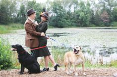 This Couple Recreated The Famous '101 Dalmatians' Scene For Their Engagement Photos