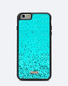 funda-glitter-turquesa Color Turquesa, Iphone, Bling Bling, Phone Cases, Mobile Cases, Phone Case