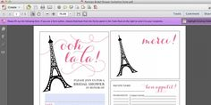 How to add text to a PDF | Elegance & Enchantment
