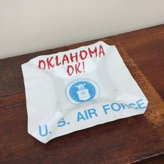 Handmade Cigar Ashtray from Upcycled Oklahoma by asburyparkvintage