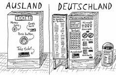 Ticket Machine in Germany