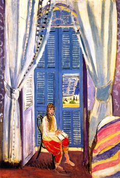The French Window at Nice Henri Matisse