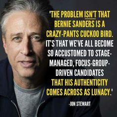 Truth be told... Authentic Bernie!