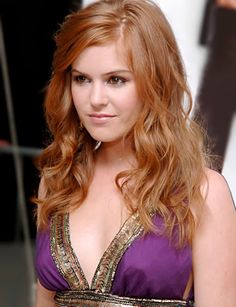Isla Fisher, one of the reasons I went red!  I adore her!
