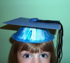 preschool graduation ceremony ideas | kids graduation hats | How To Make A Preschool Graduation Cap