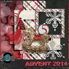 Digital Scrapbooking Studio Day 05: Advent Calendar 2014 - Welcome to Day 05 of our 2014 Advent Calendar! Every day till Christmas there will be a new FREE download from theStudio Design Team. Today's download is brought to you by ADB Designs.