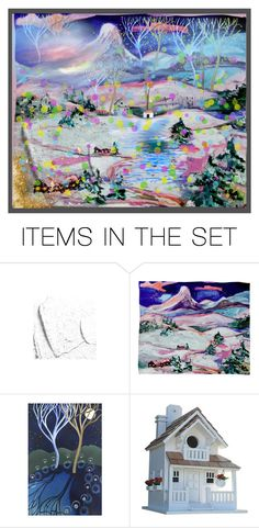 """""""Fantasy"""" by elyeyer ❤ liked on Polyvore featuring art"""