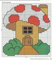 Ponto Cruz da Vanessa Cross Stitch Fairy, Cross Stitch Embroidery, Stitch Patterns, Crochet Patterns, Plastic Canvas Crafts, Pattern Drawing, Pixel Art, Painted Rocks, Needlepoint