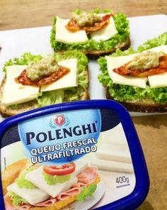 Garfo Publicitário | Blog de Gastronomia e Culinária: Lanche Fit de Pão Pullman Integral com Pasta de Be...