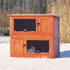 Trixie Natura Rabbit Hutch with Insulation