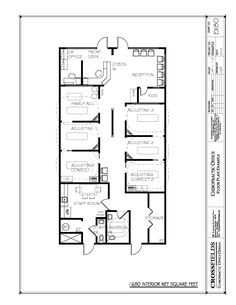 Chiropractic office floor plans chiropractic office for Chiropractic office layout examples