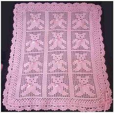 Mantilla al crochet