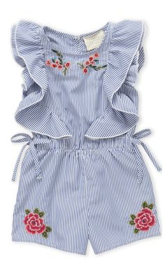 pretty embroidered romper #toddler #summer #affiliate
