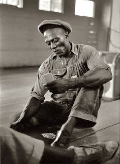 Soul Looks Back And Wonder - Vintage African American Photography - The hand that life gives you