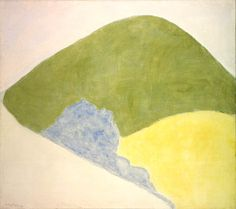 Mountain and Meadow (1960)  Milton Avery