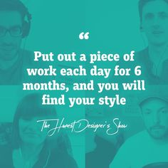 We adore this quote from our awesome designer friends! 😍  Want some design tips from some of the best designers in the world? 😄Check out our webshow Honest Designers! 👉🏻 Link in the bio!
