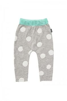 Bonds Stretchies Lace Legging New Grey Marle & White Spot