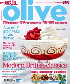 olive June 2013 cover
