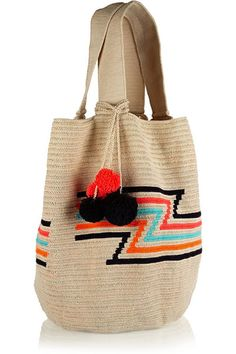 The best tote bags to shop this Spring Summer 2015 (The Blonde Salad) Chan Luu, Sophie Anderson, Best Tote Bags, The Blonde Salad, Tapestry Crochet, Beige, Spring Summer 2015, Cute Fashion, Crochet Stitches