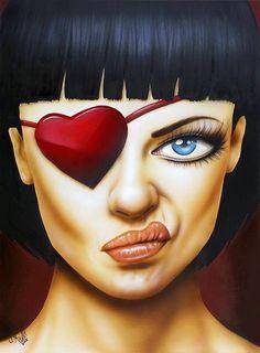 Memories of a Broken Heart - Scott Rohlfs, eye patch