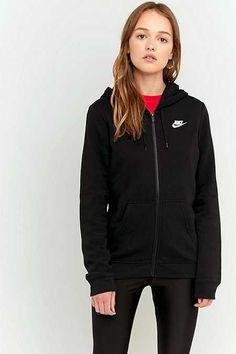 Nike - Sweat à capuche zippé avec virgule