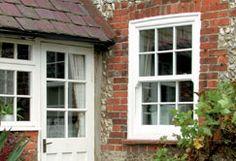 Anglian Sash window and matching door