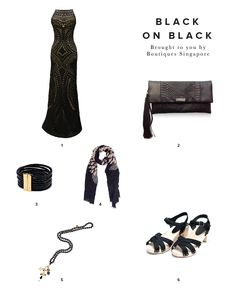 Black on Black | Boutiques Singapore: Share the Love | What to Wear | Travelshopa