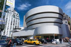 Solomon R. Guggenheim Museum.  New York City