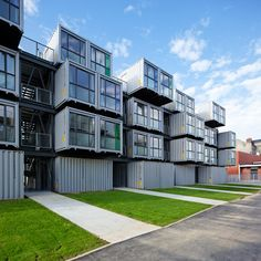 container apartment building - Pesquisa Google