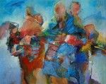 acrylschilderijen Other People, Van, Painting, Figurines, Painting Art, Paintings, Vans, Painted Canvas, Drawings