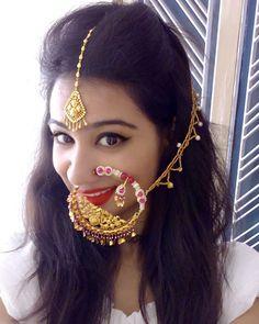 Garhwali Bride Bridal Jewellery Indian