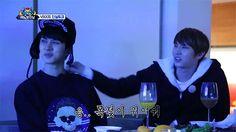 Hongbin and Leo find Ken cute~