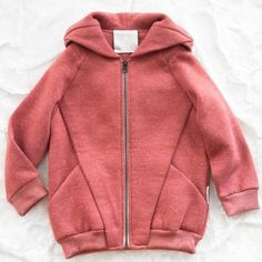 trommpo origami hoodie - pink (I love everything on Thumbeline!)