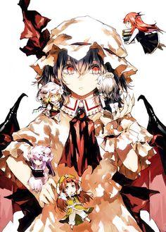 Touhou- Scarlet Devil Mansion